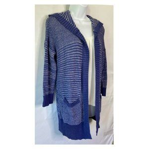 Sonoma Open Front Hooded Long Cardigan S NWT